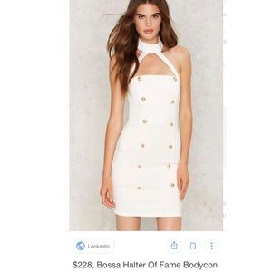 Nasty Gal Bossa Halter Dress